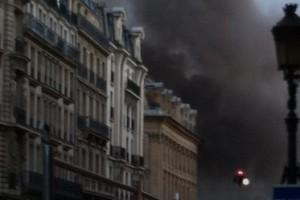 パリで火事