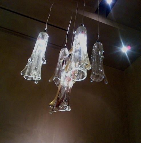 ガラスの彫刻家の作品