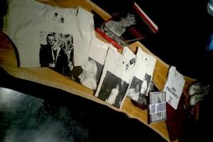 モノクロ写真プリントTシャツ