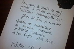 ヴィクター&ロルフのサイン