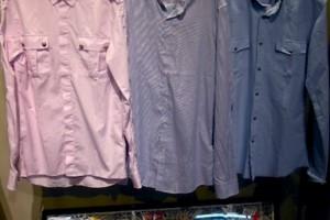 バルマンのダンガリーシャツ