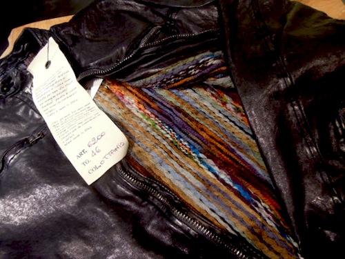 ジョルジオブラートのレザージャケット