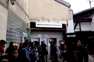 マルジェラ展示会会場