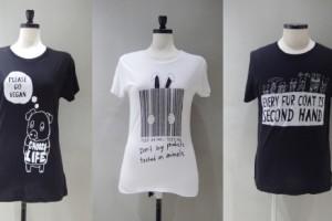 ブラックスコアのTシャツ